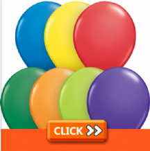Plain 16 Inch Balloons - Qualatex